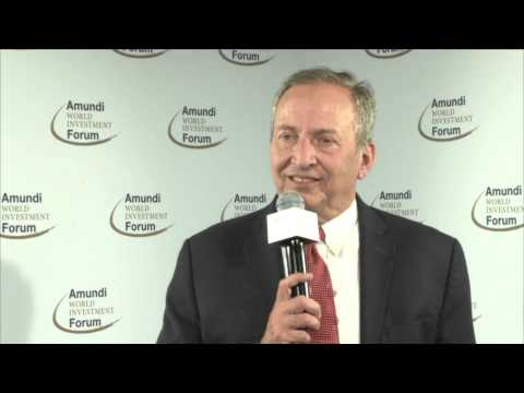 Lawrence H. Summers' interview - Amundi World Investment Forum 2015