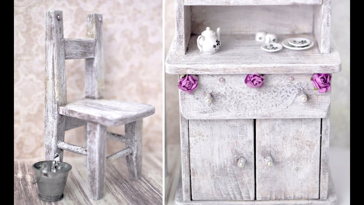 Perfect Shabby Chic   Vintage Furniture | Transform U0026 Customize Your Old Dolly  Furniture!