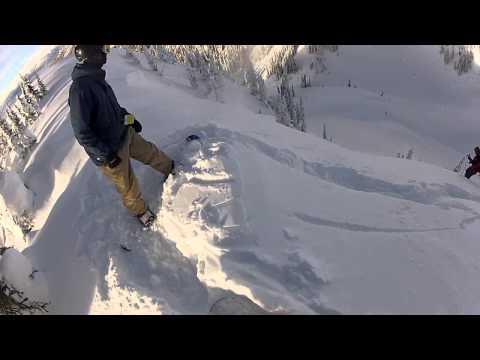 Backcountry snowboarding in Nelson and Revelstoke