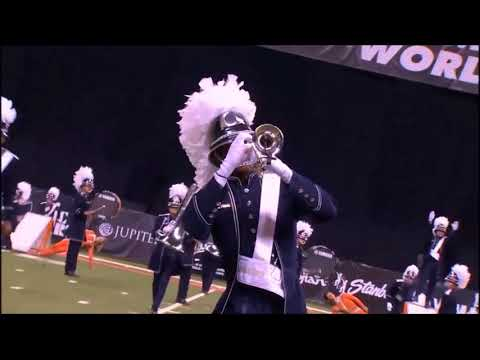 Bluecoats 2014 but audio from the Boyle County Highschool Marching Band is superimposed