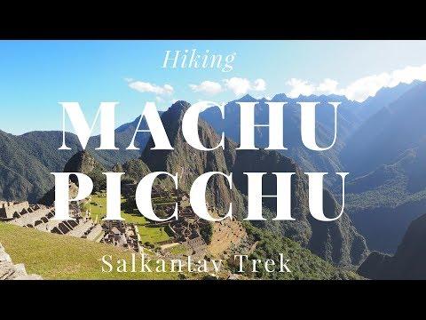 Machu Picchu Peru Salkantay Trek