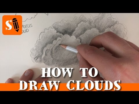 how-to-draw-clouds-with-a-pencil