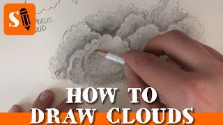 How to Draw Clouds with a Pencil