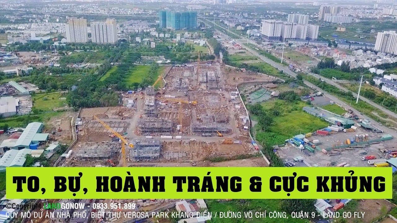 Nhà phố, biệt thự Verosa Park Khang Điền Quận 9 bự cỡ nào? ✔
