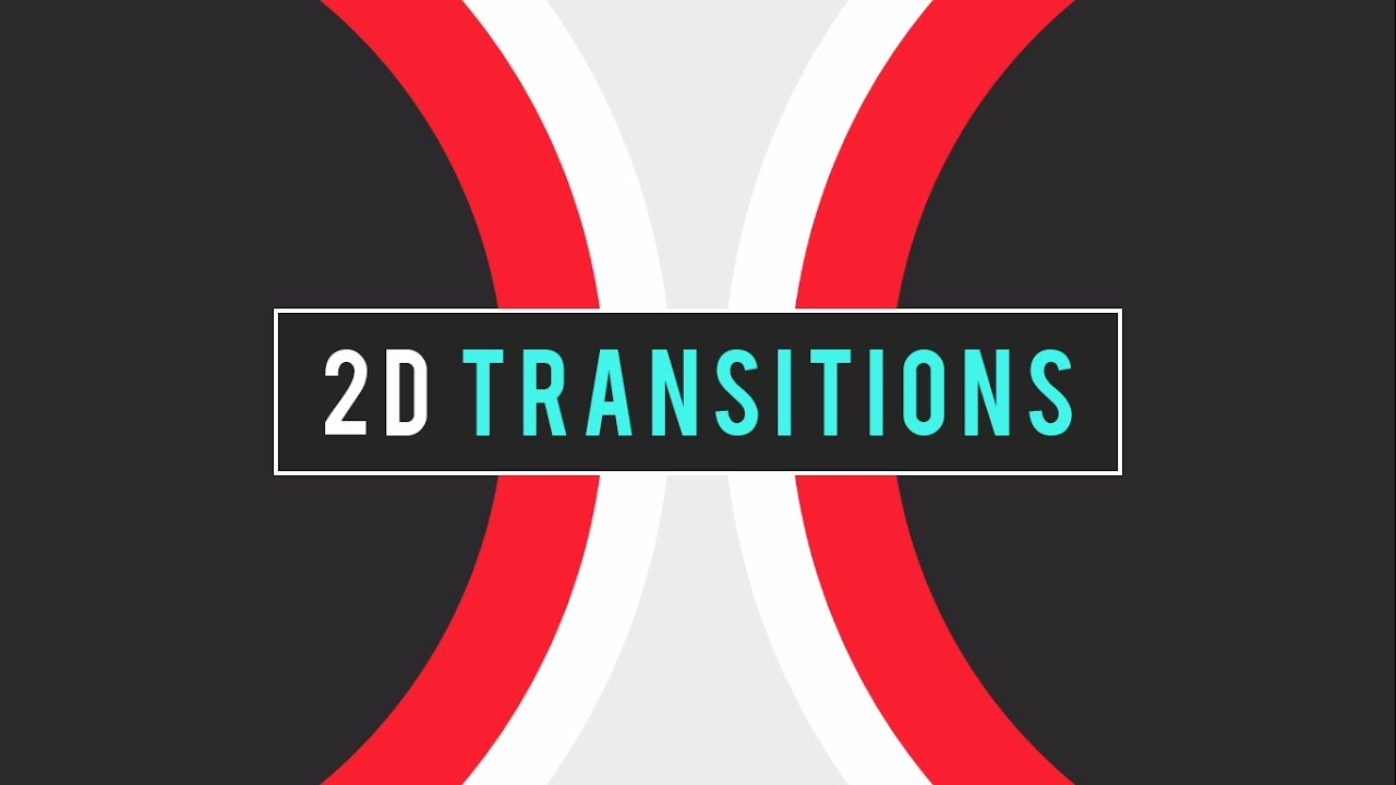 (FREE) 2D Transition Pack   After Effects (Tutorial Included)