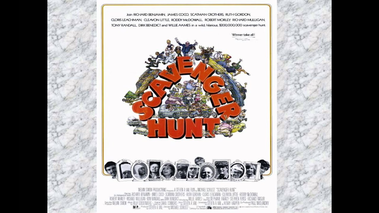 scavenger hunt 1979 movie review youtube
