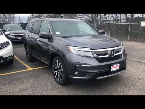 2019 Honda Pilot Touring demo for Joey