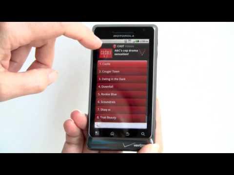 Motorola Droid 2 Video Review