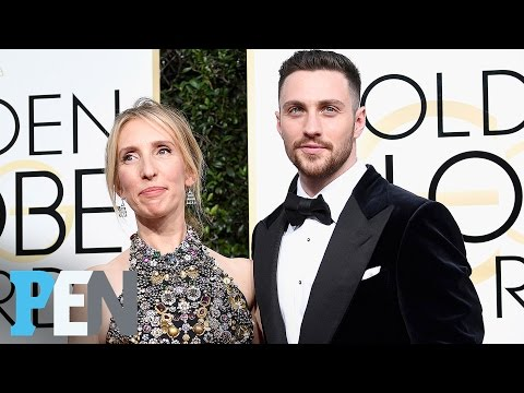 Aaron Taylor-Johnson Teases Project With Wife Sam Taylor-Johnson | Entertainment Weekly