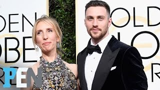 aaron taylor johnson teases project with wife sam taylor johnson entertainment weekly
