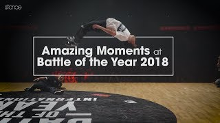 Amazing Moments at BATTLE OF THE YEAR 2018 // .stance