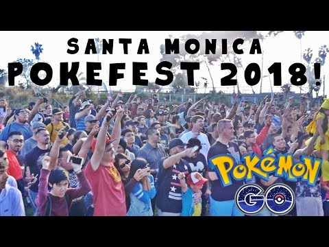 SANTA MONICA POKEFEST 2018! TRAINER TIPS, MYSTIC 7, AND POKETUBERS - Pokemon GO Poketwon 33