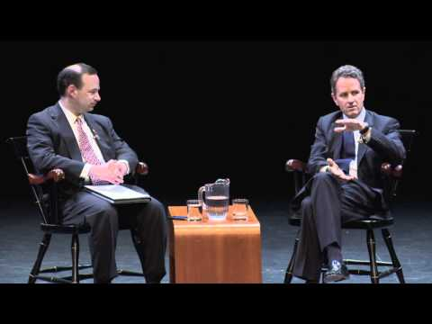 "Tim Geithner '83 Speaks at Dartmouth Summer Lecture Series ""Leading Voices in Politics & Policy"""