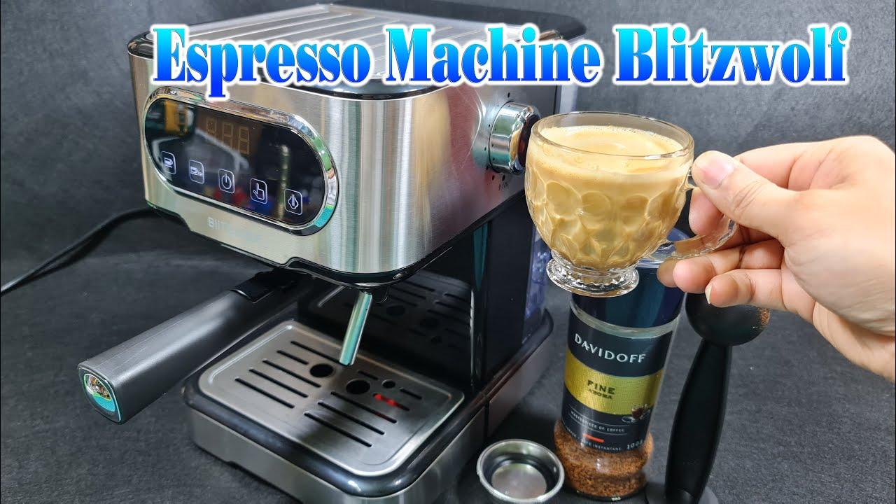 Unboxing and Test Espresso Machine Blitzwolf BW-CMM2