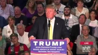 Trump Rally in New Hampshire
