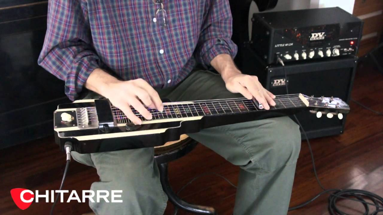 National New Yorker Electric Lap Steel