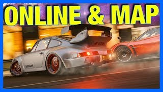 Forza Horizon 4 Gameplay : ONLINE, MAP, AUTO GHOSTING & MORE!!