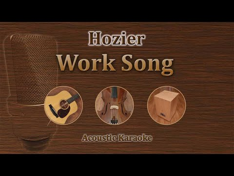 Work Song - Hozier (Acoustic Karaoke)
