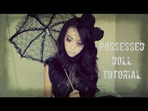 Possessed Doll Halloween Tutorial