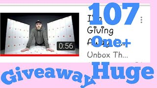 107 OnePlus 6 giveaway by Unboxing trappy