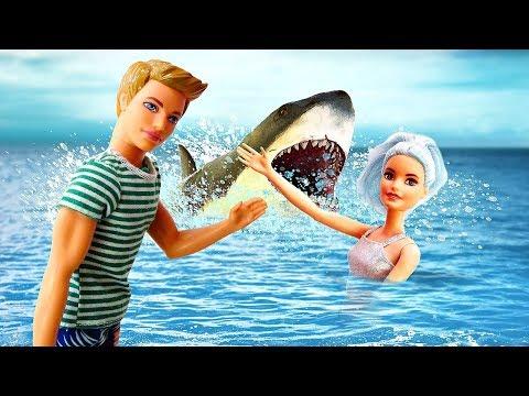 Как не утонуть в море? Правила безопасности с Барби. Я не хочу в школу 29