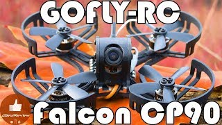 ✔ Быстрый FPV квадрокоптер GOFLY-RC Falcon CP90 - Cool Mini FPV Racing Drone! Banggood!