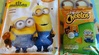 2015 Minions Movie Big Surprise Mystery Blind Bag & Snacks Promo Pack 迷你小兵