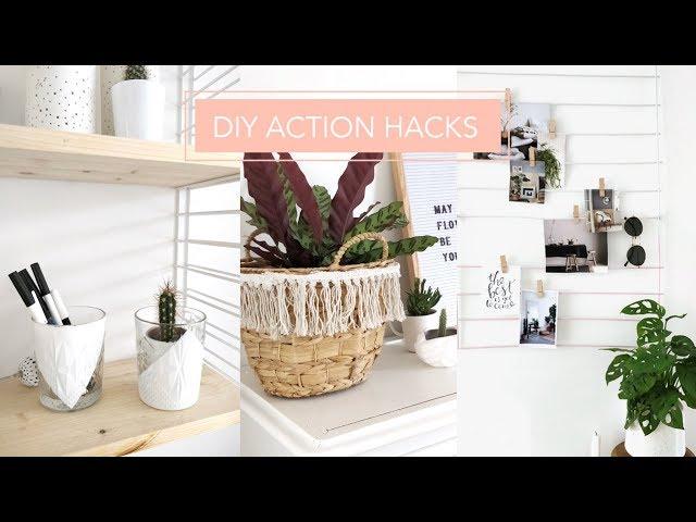 Diy Action Hacks Idees Deco Pas Cher Super Simple 2018 I Do It Myself Youtube