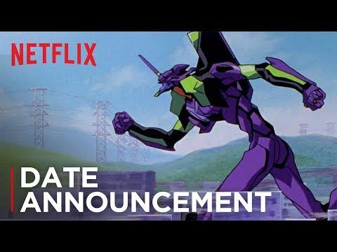 Neon Genesis Evangelion | Date Announcement | NX on Netflix