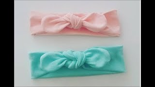 Kolay saç bandı dikimi. Easy  Sewing head band