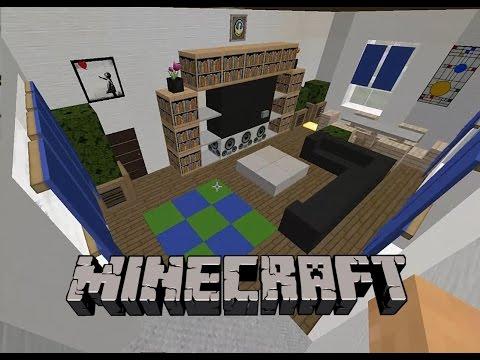 Minecraft: Ev Yapımı | İç Tasarım #6