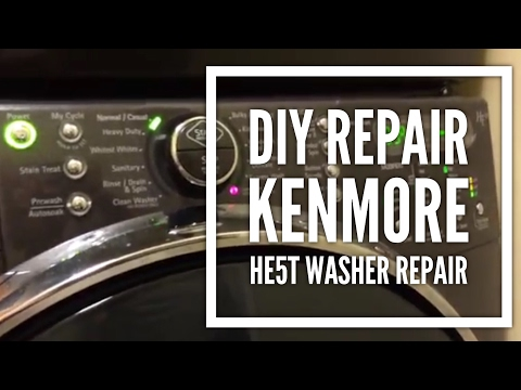 Kenmore HE5t Washer Repair for Error Code F21 & Sud