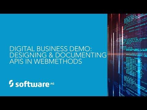 Demo: Designing and Documenting APIs in webMethods