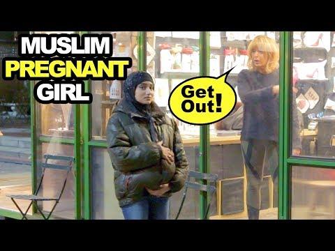 Muslim PREGNANT HIJABI Experiment (Social Experiment)