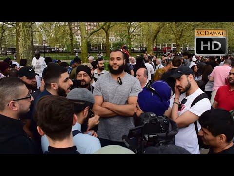 Freedom! Mohammed Hijab & Ali & Sikh Visitor | Speakers Corner | Hyde Park
