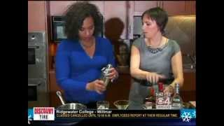 Holiday Ginger Drinks (12/11/12 on WCCO)