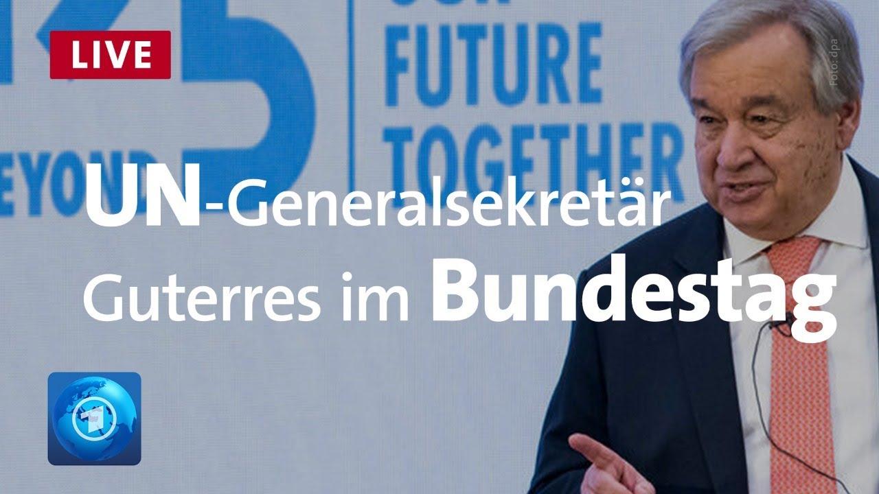 15 Jahre Vereinte Nationen   Rede von Generalsekretär Guterres