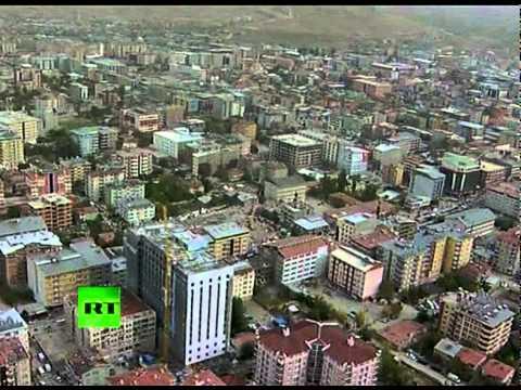Aerial Video: Turkey Earthquake Devastation