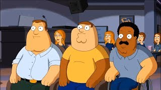 Family Guy  Peter Joe Cleveland have changed faces for each other