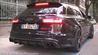 INSANE Sounding ABT RS6-R w/ Straight Pipes Dekat Milltek Exhaust!