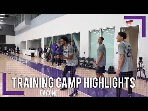 Training Camp Day 1 Highlights - Sacramento Kings | 2018-19 NBA Season