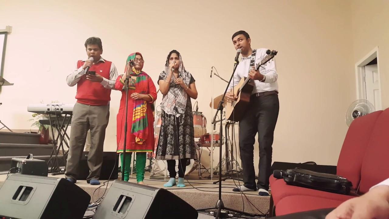 Randi sthuthinchuchu Telugu worship song @ Maranatha Gospel Fellowship  Edmonton Alberta Canada
