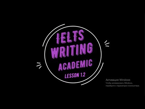 ielts academic writing preparation lesson 1.2