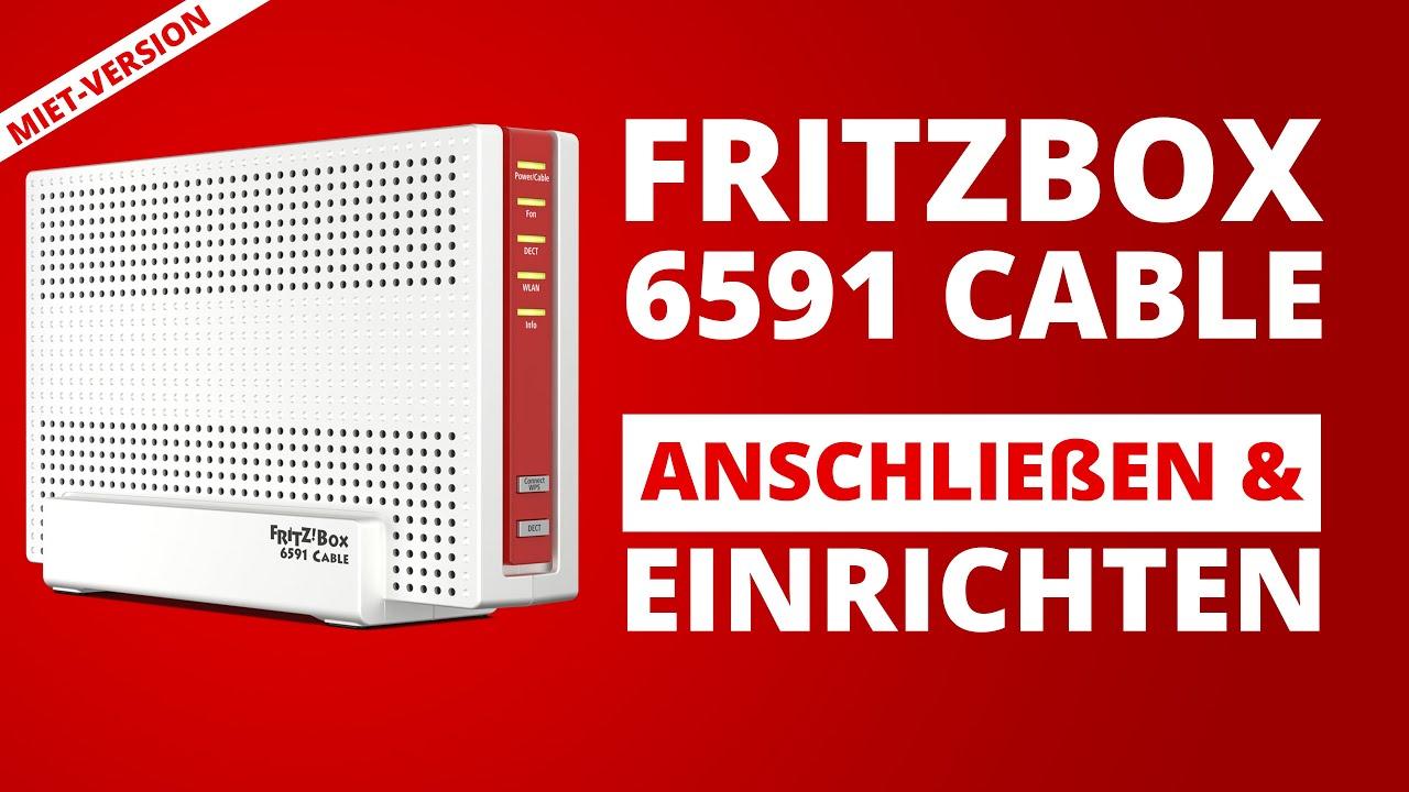 FritzBox 20 Cable Einrichtung   Anschließen Installieren und Einrichten    Vodafone Homebox