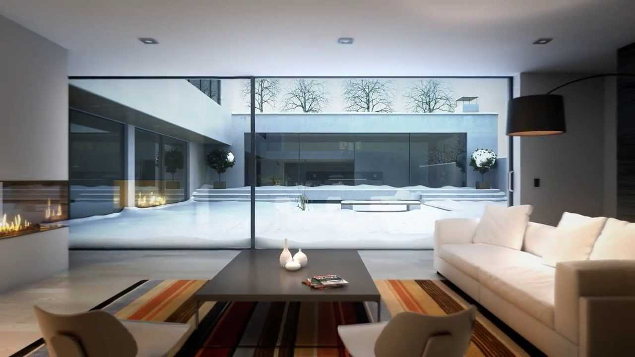 reynaers hi finity sliding glass wall system - Sliding Glass Wall