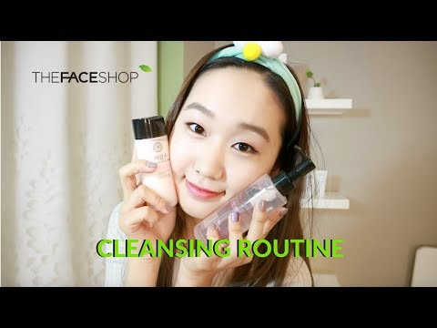 Cleansing Routine ft. THE FACE SHOP products