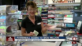 Poeple in SWFL Weigh in on the Powerball