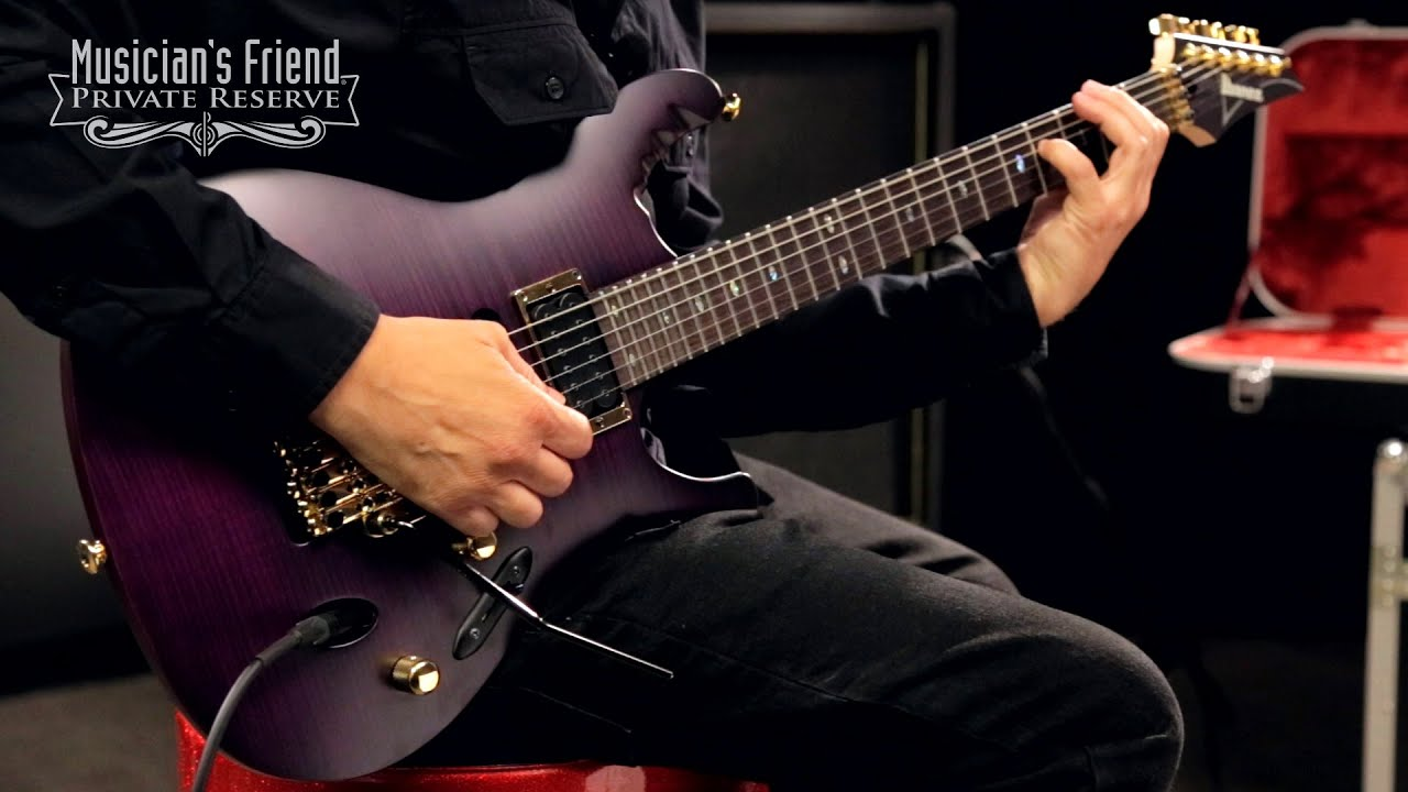 ibanez herman li egen18 signature electric guitar youtube