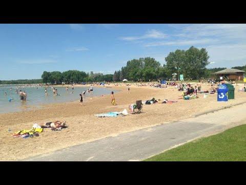 The nearest beach to Winnipeg | Civic Provincial Day in Canada | Birds Hill Park Lake