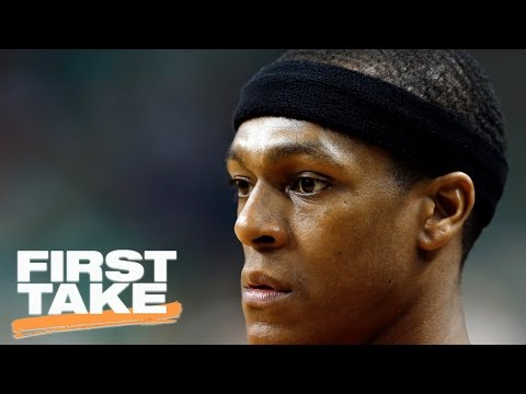 Can Dwayne Wade Carry The Bulls With Rajon Rondo Out?   First Take   April 21, 2017